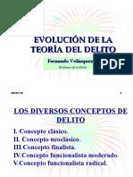 2009-Evolución Teoría Del Delito Fernando V