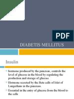 Diabetis Mellitus