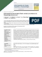 2011 Enfermedad de Charcot-Marie-Tooth, revisión con énfasis en la fisiopatología del pie cavo