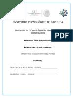 Reporte de Investigacion Unidad 3