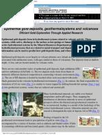 Epithermal Gold Deposits (Mineral Resources Dept. GSJ)