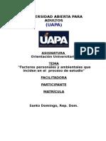 Orientacion Universitaria Tarea # 05 UAPA