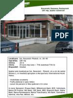 Bucuresti, Baneasa, Restaurant, 185 Mp