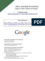 Guida dell hacker di google