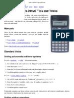 casio fx 991ms tips and tricks equations polynomial rh scribd com Casio FX 115Ms Scientific Calculator Casio FX 115Ms Scientific Calculator