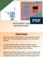 Antiperspirants and Deodorants.ppt