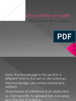 history of life on earth part 1 of 2