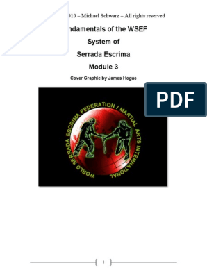 Fundamentals of WSEF System of Serrada Escrima Module 3