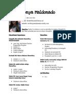 edited educational resume