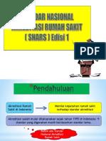 Standar Nasional Akreditasi Rumah Sakit (SNARS)