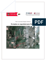 Plan Local de Empleo de Palmira 2012