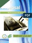 Proposal Mukhayyam Al Qur an 2013