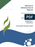Entorno Economico de Mexico unid Actividad 7