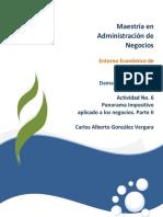 Entorno Economico de Mexico unid Actividad 6