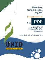 Entorno Economico de Mexico unid Actividad 12