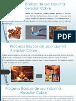 Procesos Básicos de Uso Industrial Aleación Cobre