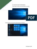 Crear Cuentas de Usuario en Active Directory Server