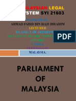 History of Parliament of Malaysia