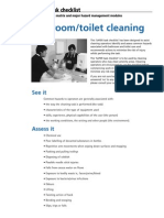 Clean Ohs Checklists