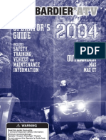 Bombardier ATV - Owners Manual