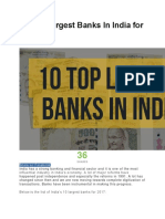 Top 10 Indian Banking Companies of 2017