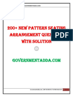 New Pattern Seating Arrangement