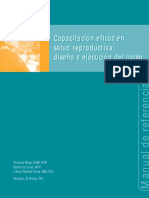 Manual de Capacitación en Salud