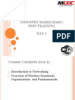Mdec Basic Wifi Training Day 1