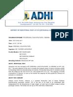 Icf IV Report