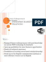 Industry Based Wifi Training