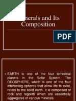 Minerals Report