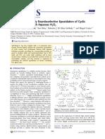 Iron Catalyzed Highly Enantioselective Epoxidation of Cyclic Aliphaic Enones With Aqueous H2O2