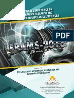 Velammal Engineering College National Conference ERAMS 2018 Final Brochure (2)