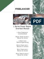 2.0 Litre L Series Diesel Engine Overhaul Manual (LRL0157ENG 2nd Ed)