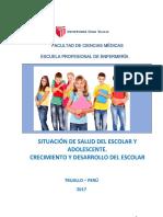 Situación de Salud Del Escolar y Adolescente(1)