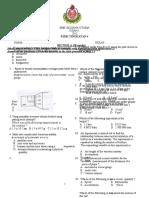 177768580 Ujian Bulanan 1 Fizik Tingkatan 4 2013