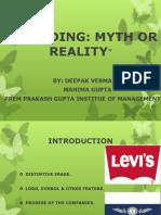 Presentation on Branding