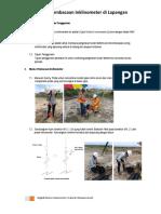Manual Pembacaan Inclinometer MEMS DIGITAL INCLINOMETER LATERAL DISPLACEMENT