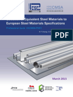 Selection of Equivalent Steel Materials to European Steel Materials Specifications