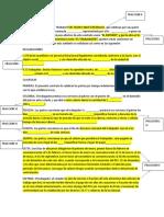 Contrato de Trabajo Art 25 Lft y Su Estructura