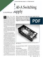 Xq2fod Switching Power Supply