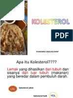 materi Penyuluhan Kolesterol.ppt