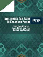 Intoleransi Dan Radikalisme Di Kalangan Perempuan di 5 Daerah di Indonesia