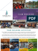 Tadom Hill Resorts  brochure