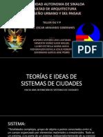 Teorías e Ideas de Sistemas de Ciudades