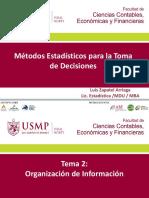 2. Org. Información