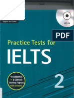 Book- Practise Test for ILETS