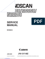 Canoscan n1220u Service Manual