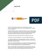 Kisah Sebatang Pensil