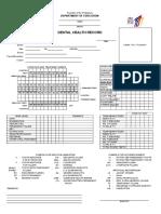 Dental Certificate